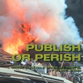 Publish or Perish: a secondopinion