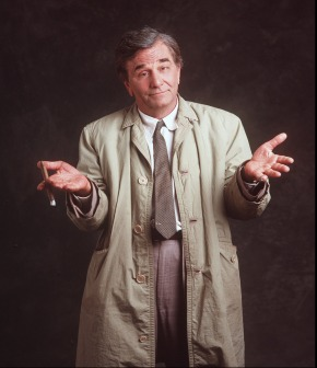 What happens when Columbo's cases go to court?