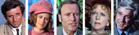 Columbo Lady in Waiting cast