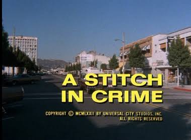 Columbo stitch in crime opening titles