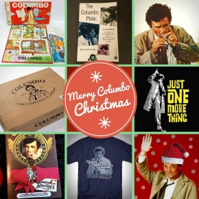 Christmas stocking fillers for the Columbo fan in yourlife!