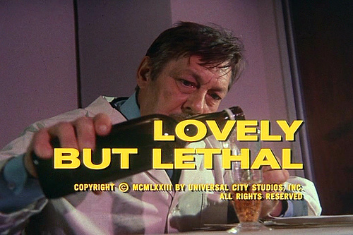 Columbo Lovely but Lethal opening titles