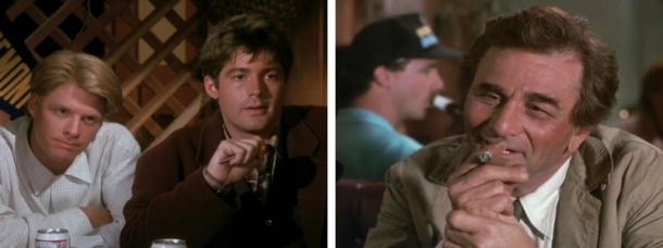 Columbo Goes to College booze