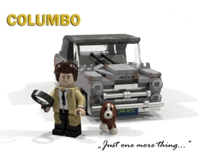 Columbo Lego set, anyone?