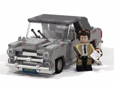 Columbo Lego set 3