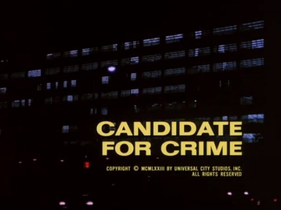 Candidate for Crime opening titles