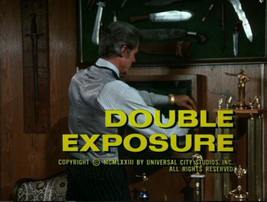 Columbo double exposure opening titles