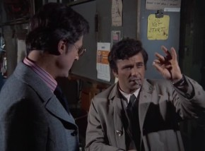 Does Lieutenant Columbo have only one eye?