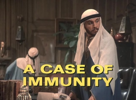 Columbo Case of Immunity opening titles