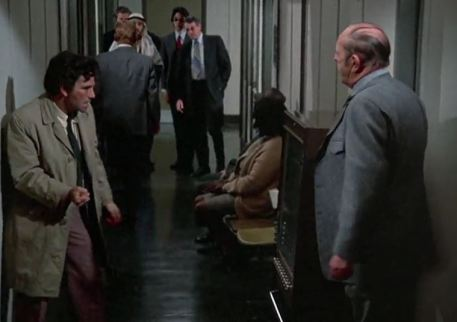 Columbo anger Case of  Immunity