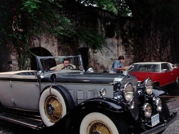 Columbo Matter of Honor Cadillac
