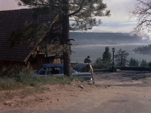 Columbo location Ken Franklin cabin