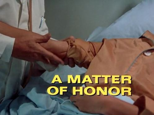 Columbo A Matter of Honor opening titles