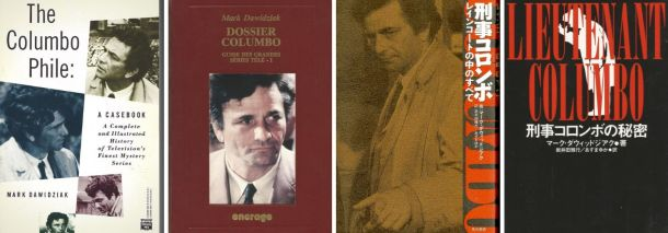 Columbo Phile book covers