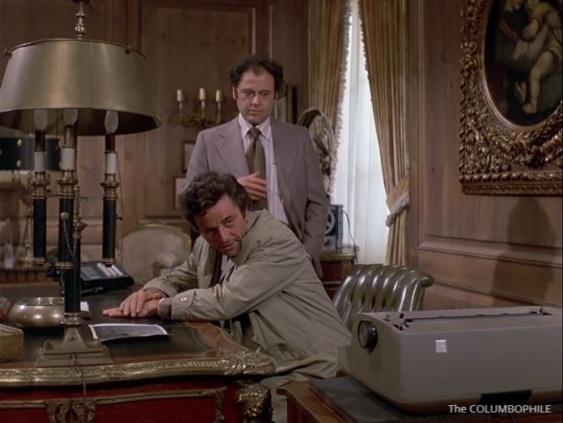 Columbo Now You See Him typewriter